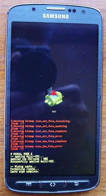 S4 Active Keeps Turning Itself Off After Update Android