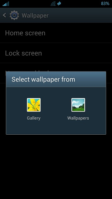 change lock screen image android forums at