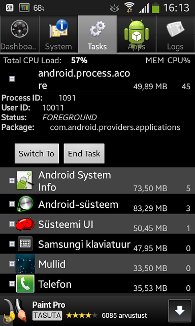 Problem Android Process Acore Amp Com Android Providers