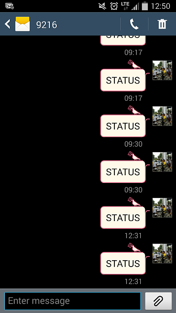"""Sms to 9216 with """"STATUS""""-screenshot_2014-03-25-12-50-27_resized.png"""