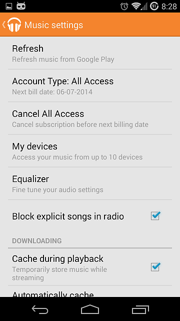 Google Play Music (Canada): cancelled all access trial, still receiving all access features?-screenshot_2014-05-08-20-28-39.png
