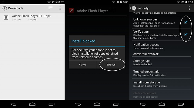 TIPS: Working Flash Player for Dolphin Browser on KitKat