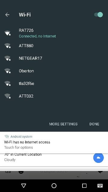 My Wifi Apparently Has No Internet Connection Android Forums At Androidcentral Com