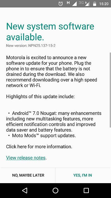 Android Nougat 7.0 update available for Moto Z play in India-75040.jpg