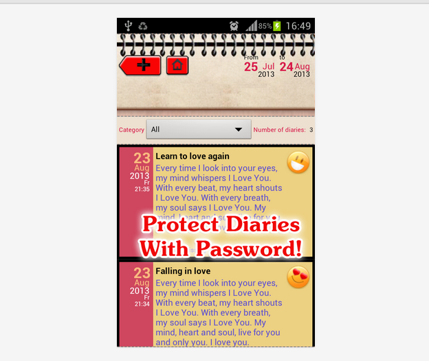 [App] [Free] Love Diary & Love Message - Express your love-love5.png