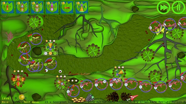 [Game][Free] Anthill Defenders - Tower Defense-level9.jpg