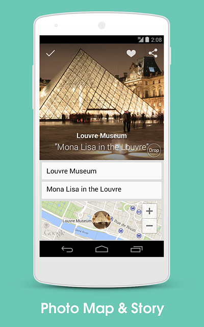 [APP] 8tory, a travel app. After taking GPS photo, instantly see place name on photo and photo map-guide_2.png