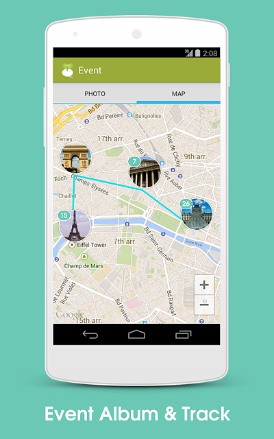 [APP] 8tory, a travel app. After taking GPS photo, instantly see place name on photo and photo map-guide_3.png