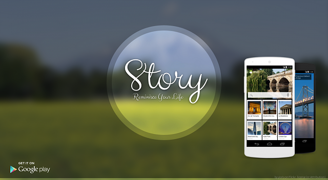 [APP] 8tory, a travel app. After taking GPS photo, instantly see place name on photo and photo map-banner_used.png