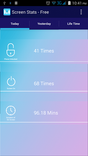 """[Free][APP] Check your mobile Addiction """"Screen Stats - Free""""-screen1.png"""