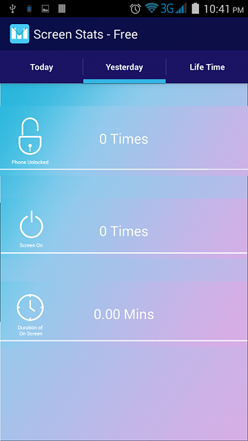 """[Free][APP] Check your mobile Addiction """"Screen Stats - Free""""-screen2.png"""