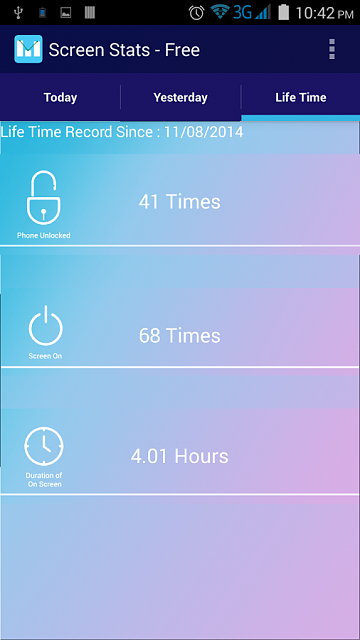 """[Free][APP] Check your mobile Addiction """"Screen Stats - Free""""-screen3.png"""