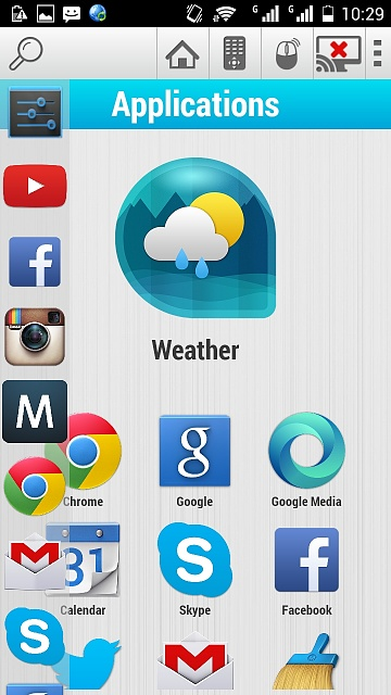 APP][FREE] Handy Smart TV launcher - Android Forums at