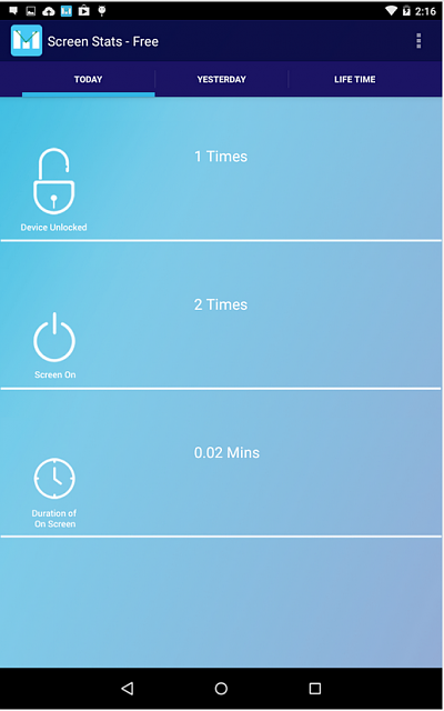 """[Free][APP] Check your mobile Addiction """"Screen Stats""""-screenstats.png"""