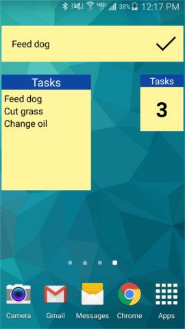 [App][4.0+] Task Triage (Simple To-Do List)-widgets.png