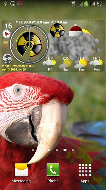 [Widget][free][4.03+] One of the Best Weather Widgets in the Market and supports Dust Forecast-screenshot_1.jpg