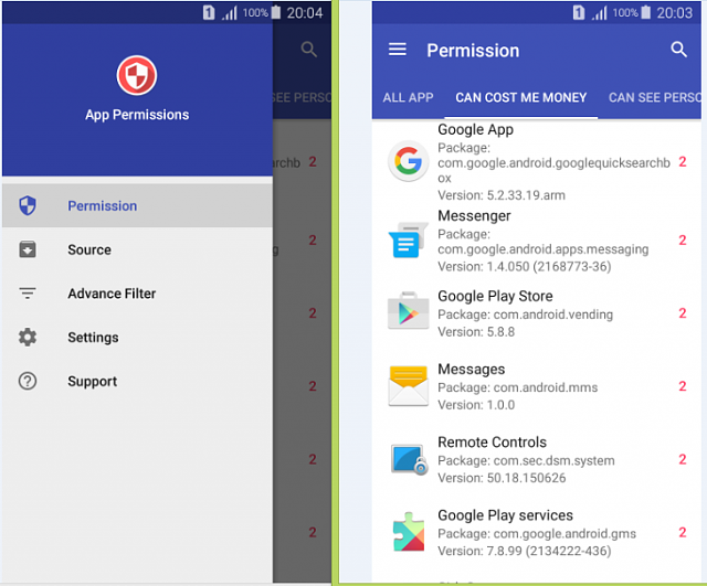 [APP 4.0+] Material App Permissions Easy monitor app's permission on your device.-mater1.png