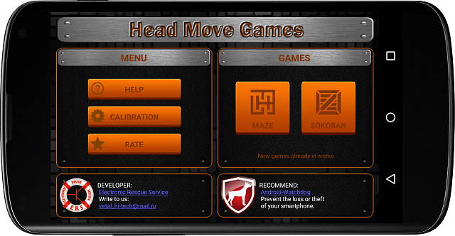 [GAME][FREE] Head Move Games - a set of games controlled by the head movement and turns-screenshot_2015-10-27-21-25-06_nexus4_landscape.png
