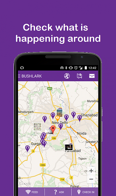 [APP][FREE][4.0+] BUSHLARK - Real time local Q&A-heatmap.png
