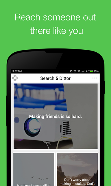 [Social Networking applicaiton] [Free] Dittor-1.png
