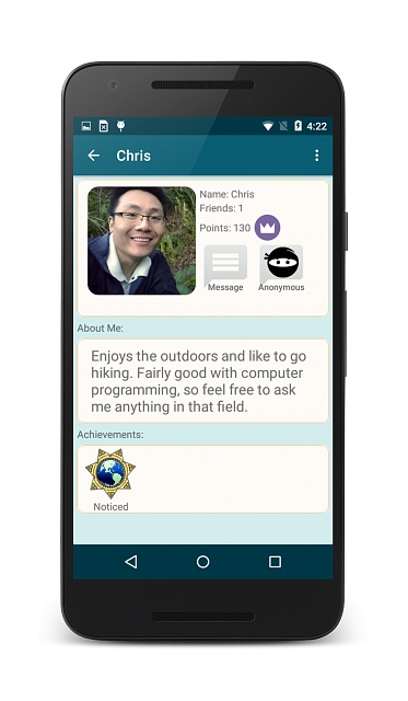 [App][Free] CoVerse - Ask anonymous questions to the world and give advice!-screenshot_2016-01-14-16-22-50_framed.jpg
