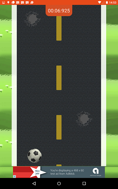 [APP] [FREE] [GAME] [ANDROID 4.0+] Roadball - Easy to play, lots of fun-gameplay2tab7inch.png