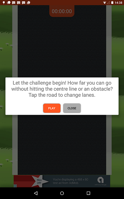 [APP] [FREE] [GAME] [ANDROID 4.0+] Roadball - Easy to play, lots of fun-starttab7inch.png