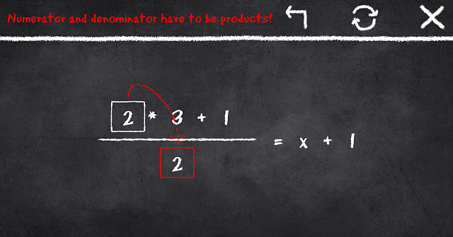 [GAME][FREE]: X=1 – Learn to solve equations and find the hard to catch X-screenshot_2016-05-29-12-43-20.png