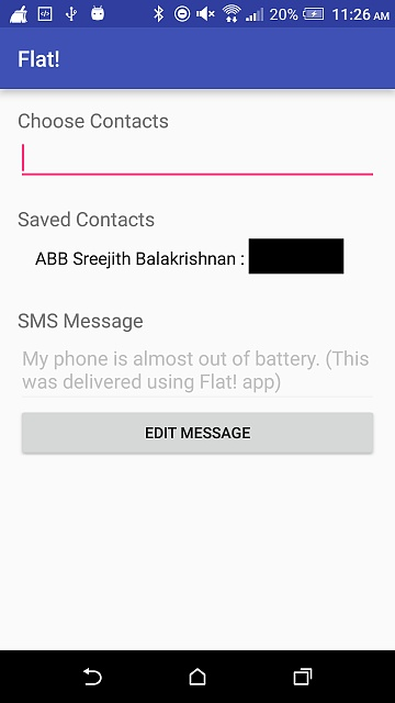 [APP][FREE/PAID] Flat! - Automatic SMS before your phone dies-free_mainpage.jpg