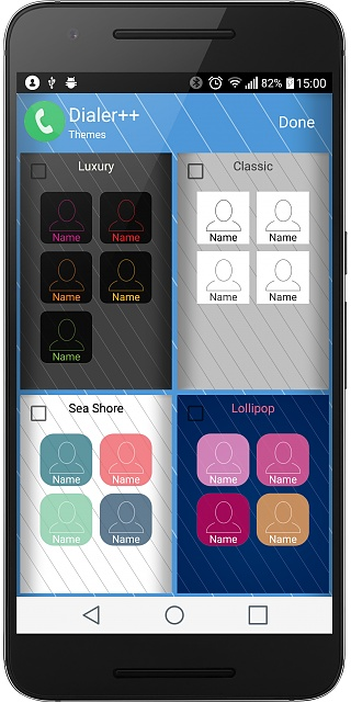 Dialer++ - a new dialer app with your friends and family photo collage...-device-2016-10-12-150106.jpg
