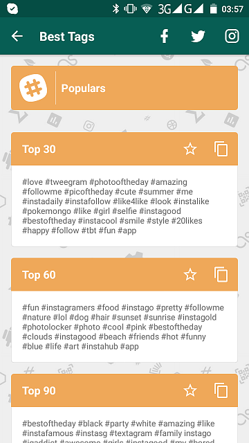 APP][FREE]Top Tags for Instagram Likes - Android Forums at