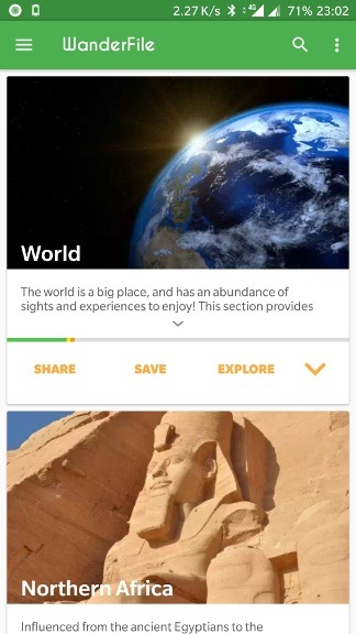 [APP] [FREE] Wanderfile - Travel log with maps and useful per country travel info and costs-screenshot_1.jpg