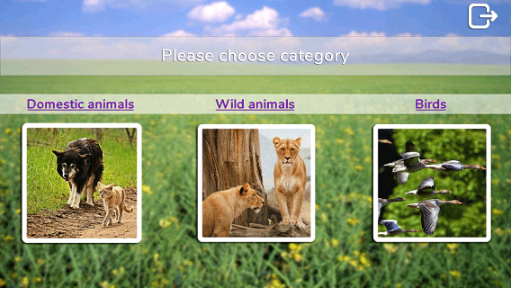 [APP][FREE][4.1+] Animal photos, sounds and short descriptions-start-scene.png