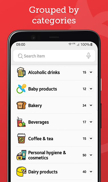 [App][Free] Tomato List - Grocery Shopping App-app-4.png