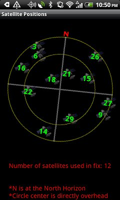 [FREE] Polaris Navigation System adds REPORTS:  SATELLITE GRAPHS AND MORE-scr2_320x480.jpg