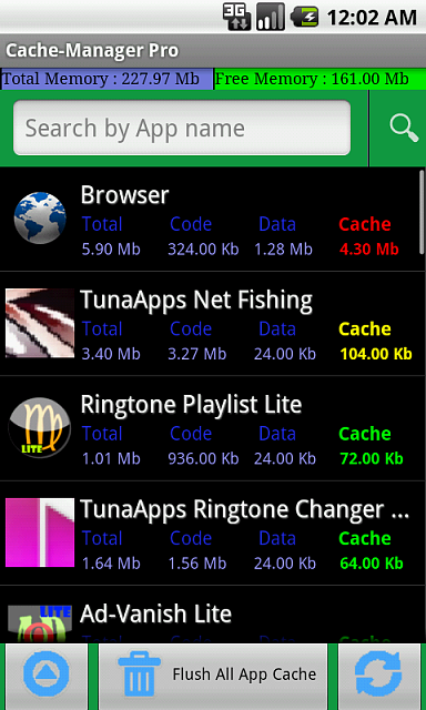 Cache-Manager : Ultimate domination of your device Cache, Boost your device speed.-device-2012-11-18-000226.png
