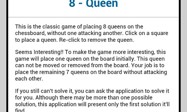 [APP][FREE][1.6+] 8-Queen Puzzle - train your brain-m6.png