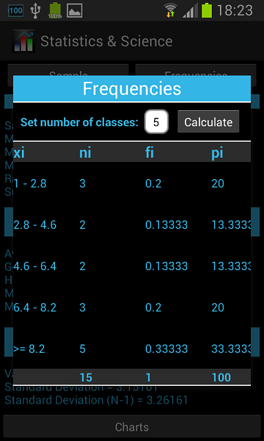 [App] Statistics & Science, a powerful analyzer of numerical series-screenshot_2013-10-26-18-23-56.png