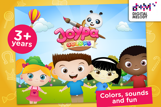 The best coloring app for kids at Google Play - Joypa Colors ...