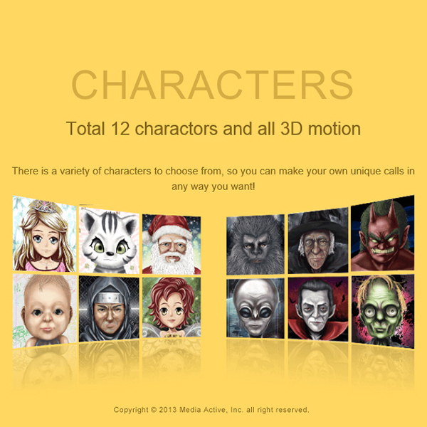 [Free App] GhostCall DX - A funny and effective way to nourishing your child-character.jpg