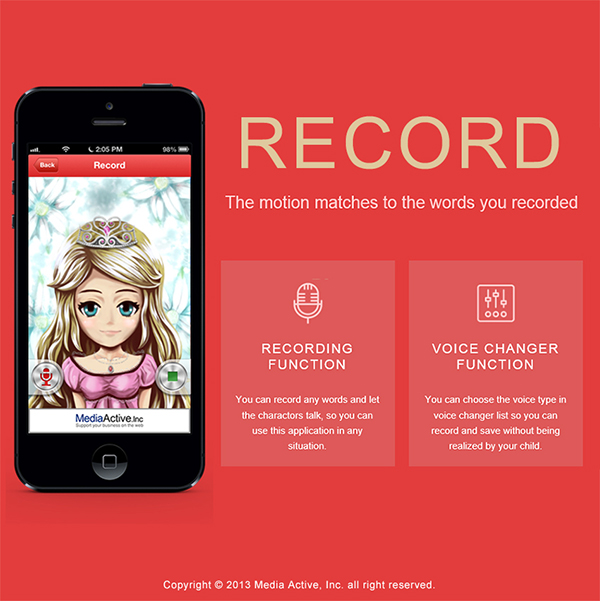 [Free App] GhostCall DX - A funny and effective way to nourishing your child-record.jpg