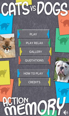 [FREE GAME APP] Action Memory games with dogs and cats-device1.jpg