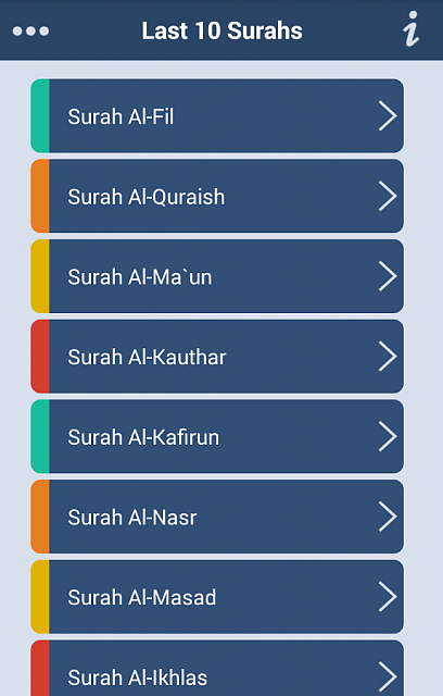 Smart app for Smart Muslims � Last Ten Surahs of Quran-lts-2.png