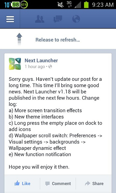 Has Anyone Used Next Launcher 3D v1.18?-uploadfromtaptalk1360077902071.jpg