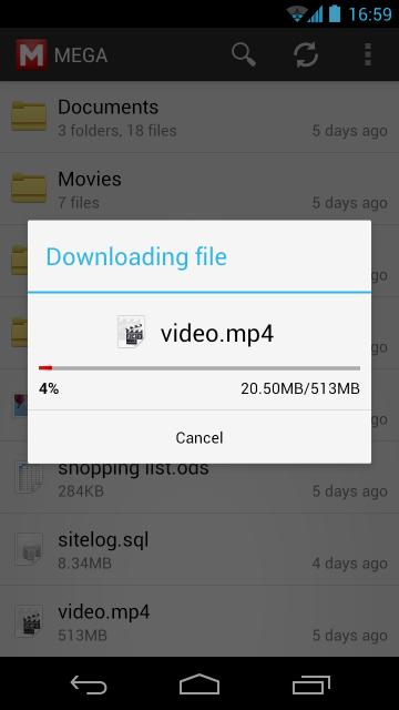 [APP][Tools][2.3+] MEGA for Android with file upload/download, camera sync and other features-screenshot_2013-02-11-16-59-07.jpg