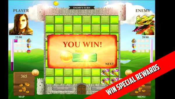 ▣ CAMELOT WARS - FREE Android Exclusive Strategy Puzzle ▣-camelotwarstapwin5.png