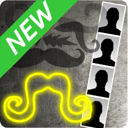 [Free][Ad-free] Mustache Photo Booth-icon256.png