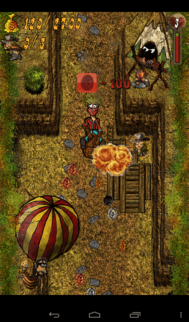 Mudslide Cowboy (FREE Android Game)-brown-screen-1.png
