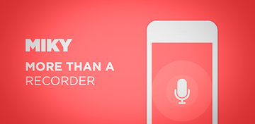 [Free][Ad-free] Miky The Voice Recorder-miky-featured-image2_360.png