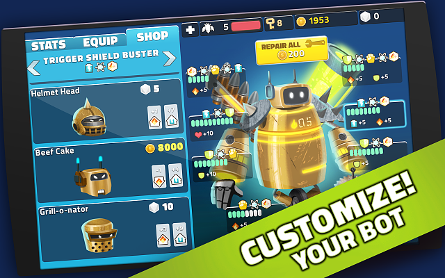 [FREE][PUZZLE][GAME] Mighty Bots - Robot Fighting game-screenshots_1280x800_02.png